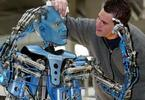 Кадр дня: Голубой человекоподобный робот