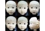 Жуткий робот AFFETTO копирует эмоции маленького ребенка