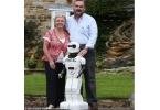 Семейная пара построила «робота-ребенка» Aimec