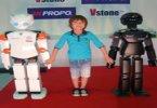 Японцы представили робота-ребёнка