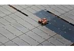 Робот очистит солнечные батареи от грязи