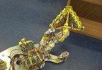 Усатый робот найдет людей в завалах