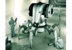 Концепт C.R.A.B. – охранный дроид на службе закона