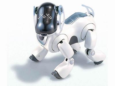 современная собака робот Aibo