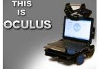 Робот телеприсутствия Oculus с нетбуком на борту