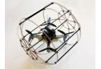 Квадрокоптер HyTAQ летает по воздуху и едет по земле