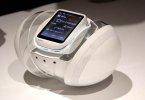 Роликовый робот-телефон iida Polaris - Sony Rolly отдыхает