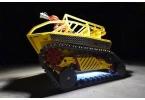 Создан гусеничный робот-пожарник