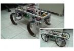 Новый робот умеет превращать колеса в ноги