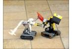 Битва роботов lego - это зрелищно