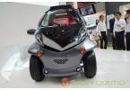 Прототип электромобиля Toyota Smart INSECT с интеллектуальными функциями