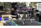 Четырехногий робот бегает трусцой и даже подпрыгивает