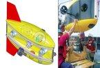 Подводный робот маневрирует как вертолёт