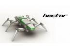 HECTOR: шестиногий метровый робот
