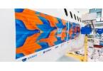 Автоматизированная покраска самолёта