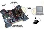 Сделай сам: четырехколесный WiFi Robot на базе Mini-ITX «материнки»