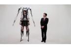 2-метровый экзоскелет из Японии