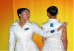 OLED мониторы в одежде