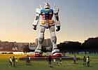 Робот Gundam впервые материализуется в полный рост