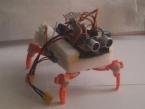 Робот-паук на сервоприводах + ИК-управление