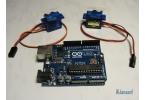 Arduino: Робо-рука на двух сервоприводах