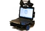 Ну очень недорогой робот телеприсутствия на основе ноутбука и мото-тележки