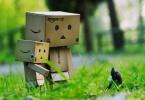 Картонная игрушка Робот Danbo