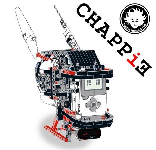 Голова робота Чаппи из EV3