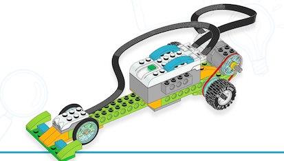 гоночная машина из wedo 2.0