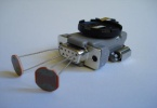 Виброробот с фоторезисторами