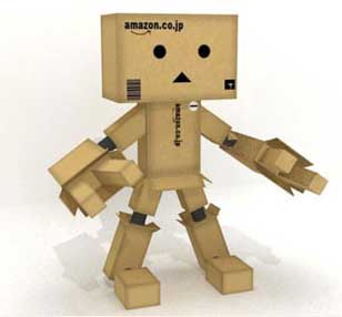 картонный робот